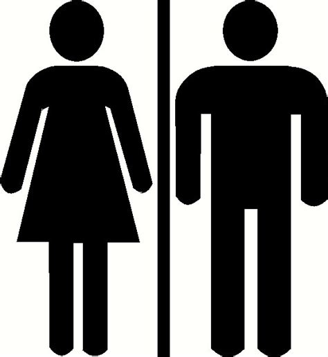 men and women bathroom sign men women bathroom sign clipart clipart suggest