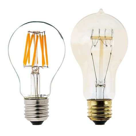 Led A19 Light Bulbs A19 Led Bulb 50 Watt Equivalent Led Filament Bulb 12v