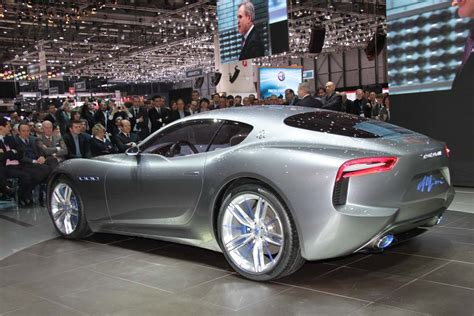 Maserati Maker by Maserati Hints At Future With 2 2 Alfieri Concept Maserati