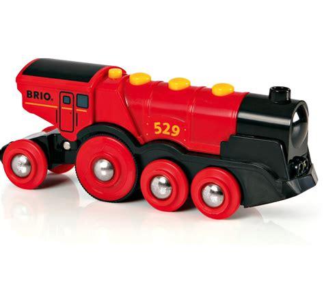 brio toy trains brio mighty red action locomotive child nursery toy
