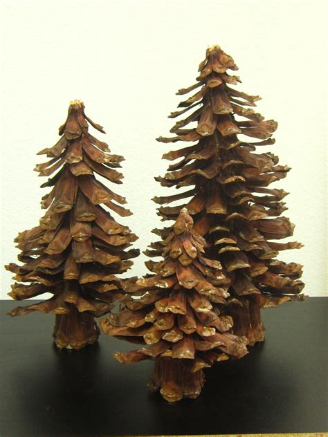 pine cone tree christmas pinterest
