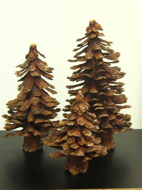 cone tree pine cone tree christmas pinterest
