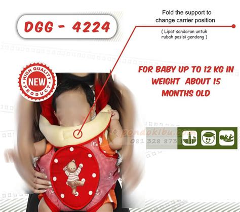 Gendongan Bayi 2 Posisi gendongan bayi dialogue model ransel 2 posisi pondok ibu