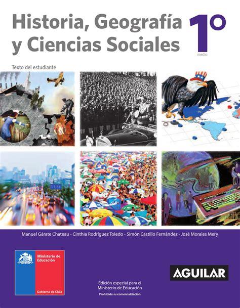 libro historia y geografia 2016 libro historia geograf 237 a y ciencias sociales i 176 medio by