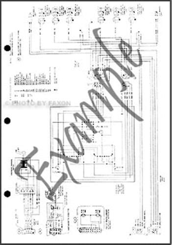 ford  truck wiring diagram     lt lt lt lt ebay