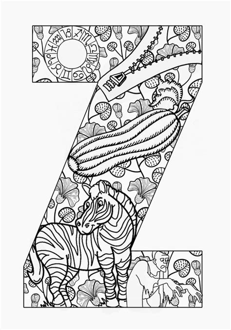 advanced coloring pages of letters 666 best advanced letters to color images on pinterest