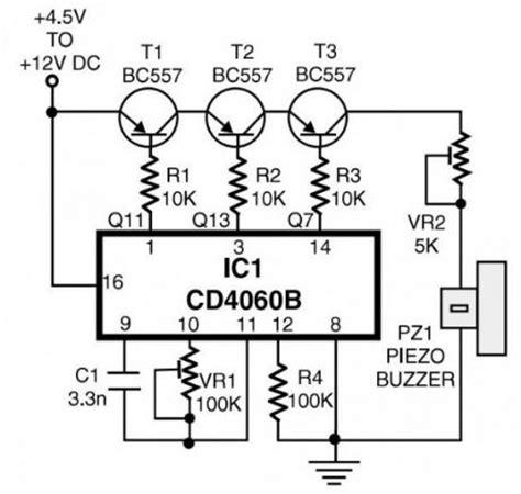 transistor ringtones index 13 basic circuit circuit diagram seekic