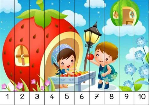sequence numbers 1 10 printable number 1 10 sequence puzzles 3 171 preschool and homeschool