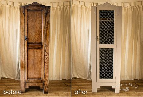 Shabby Chic Wardrobes Uk by Vintage Shabby Chic Wardrobe With Wire Mesh No 03