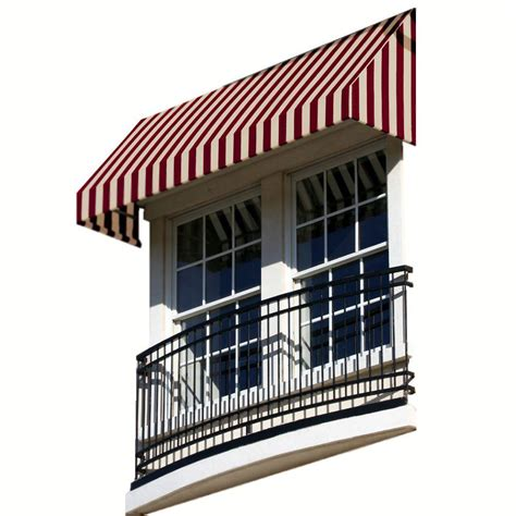 nuimage awnings 3 ft 1100 series door canopy aluminum