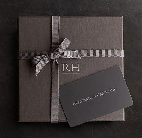 Restoration Hardware Gift Cards - shop restoration hardware gift card online