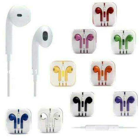 Headphone Warna Warni Jual Murah Headset Iphone Warna Warni Packing