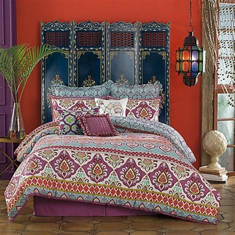 bed bath and beyond anthology anthology theadora reversible comforter set bed bath