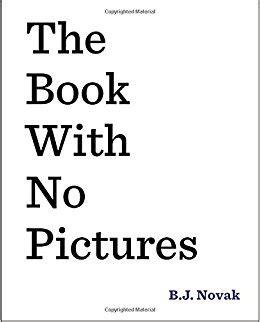 book with no pictures the book with no pictures b j novak 8601411343490