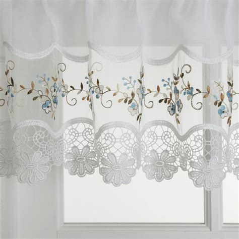 embroidered kitchen curtains hci curtain vintage embroidered kitchen curtain kitchen