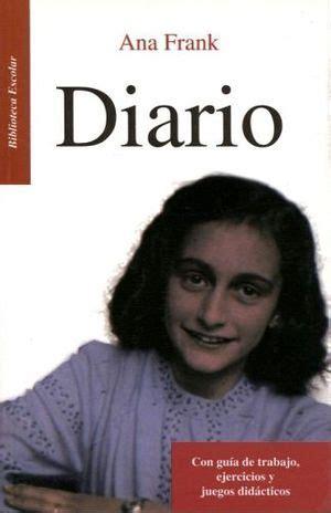 libro anna frank el diari diario de ana frank lb bib escolar nva ed hidro frank ana 9786071415394