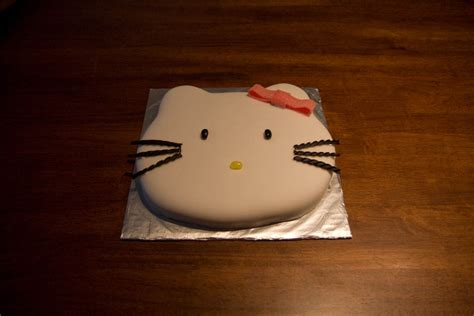 hello kitty birthday cake template