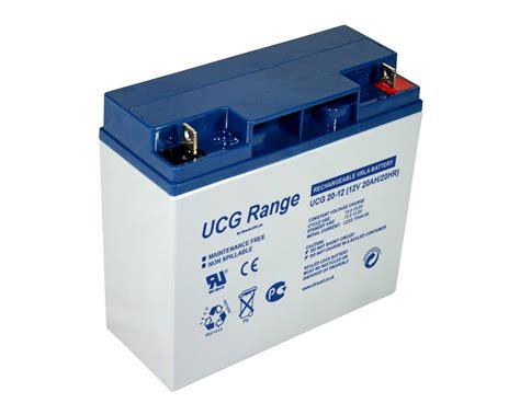 Accu Mobil 12 V 12v 20 ah gel accu ultracell ucg20 12 beterbatterij