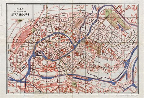 Strasbourg Plan by H 212 Tel De La R 201 Gion Alsace Emmanuelle Et Laurent