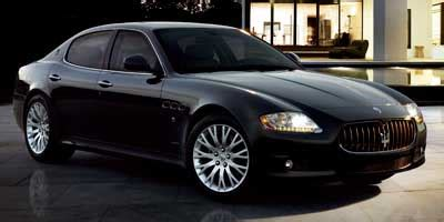 How Much Do A Maserati Cost by 2009 Maserati Quattroporte Review Ratings Specs Prices