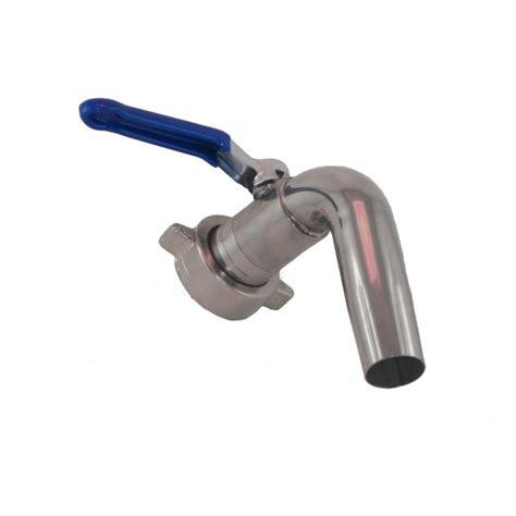 rubinetto inox rubinetto inox a sfera con attacco 30 girello enologico