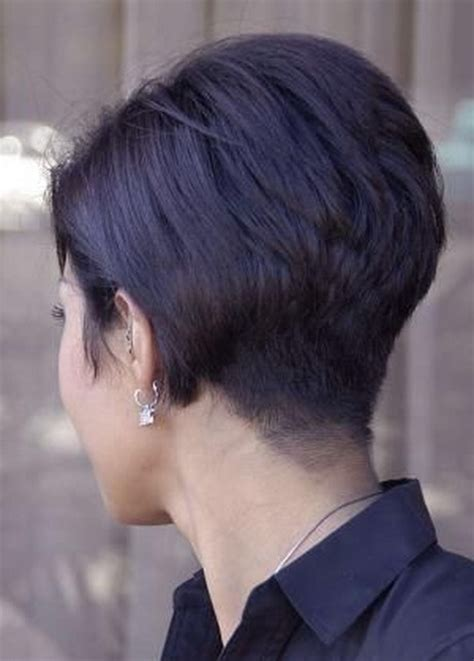 back and front views of short pixie cuts pixie haircut back view