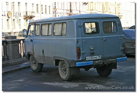 uaz van simon cars russian van