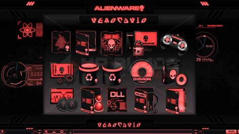 eclipse theme pack alienware 174 eclipse red premium theme for windows 174 se7en