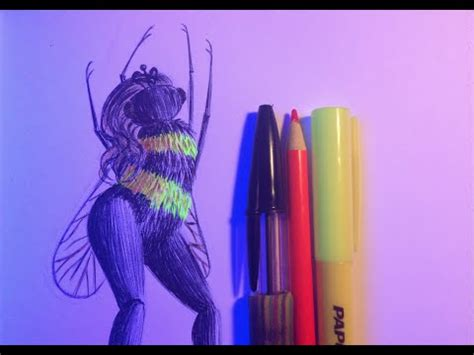 doodle light pen speed doodle 25 beeyonce blacklit ballpoint pen