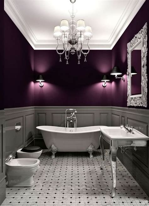 purple pictures for bathroom 23 inspirational purple interior designs you must see