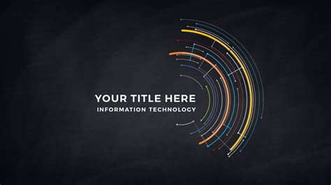technical template technical title and backgrounds free powerpoint template