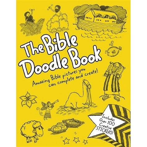 doodle book means christian children s book review the bible doodle book