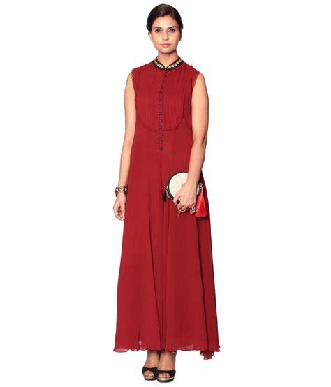 Cheapest Carpet Online by Label Ritu Kumar Long Casual Georgette Jumpsuits Jumpsuits
