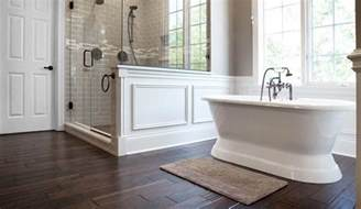 custom shower with stand alone tub home