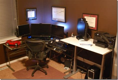 Programmer Desk Setup Brain Bytes Back Buns The Programmer S Priorities Hanselman