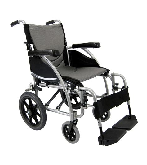wheel chair karman s 115 tp light transport wheelchair companion