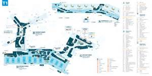 Sydney Airport Car Rental Map Sydney International Airport International Terminal