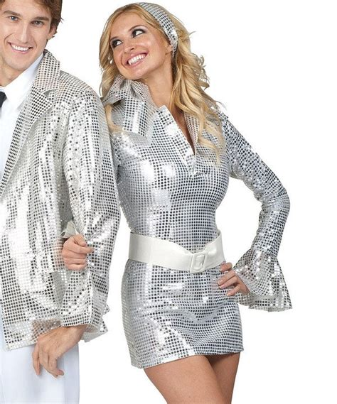 how to dress up for a disco party with pictures wikihow silver diamond disco dress up outfit women