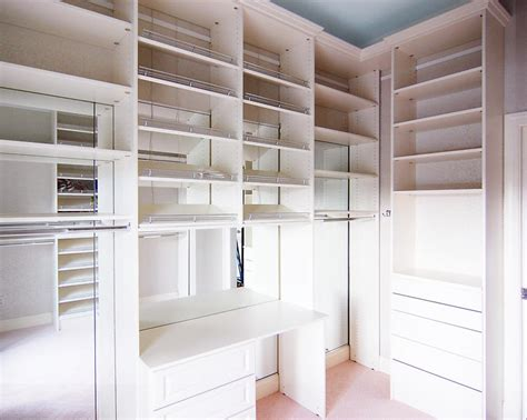 Efficient Closet Design by Custom Walk In Closets Design Home Storage Solutions In