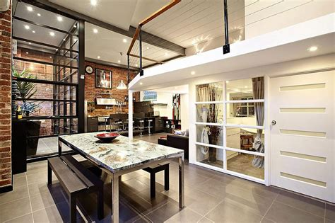 york home design abbotsford dining living space warehouse conversion in abbotsford