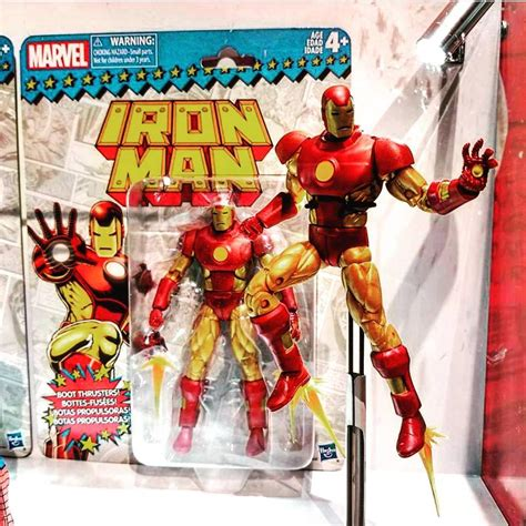 Iron Marvel Legends Hasbro Ironman Marvel Legend sdcc 2017 marvel legends lasher vintage iron