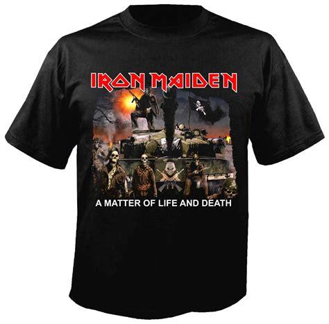 T Shirt Kaos Iron Maiden A Matter Of 0504 Dear Aysha iron maiden a matter of and album t shirt metal rock t shirts and accessories