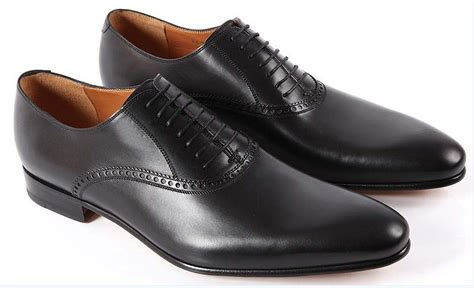 handmade mens black oxford leather shoes classic mens