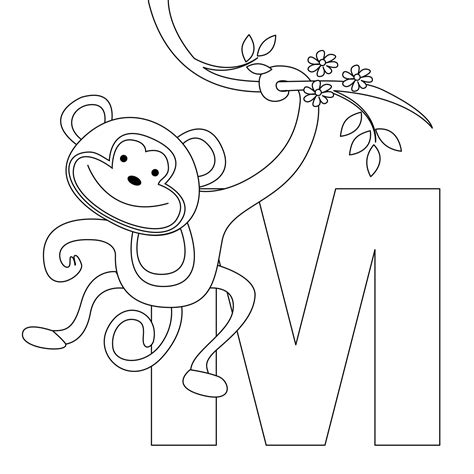 printable coloring pages monkeys free printable monkey coloring pages for kids