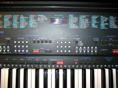 Keyboard Yamaha Psrs 500 Kondisi Normal Like New yamaha psr 500 image 1111862 audiofanzine