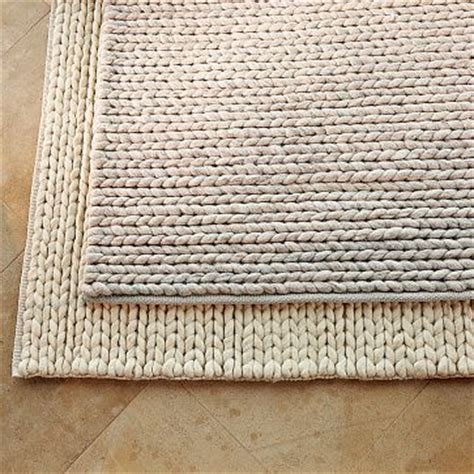west elm cable rug the west elm chunky plaited wool rug 99 99 and up reduced from of the day west elm