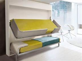 Kids Bedroom Lighting The Innovative Lollisoft Bunk Pull Down Bed By Giulio Manzoni