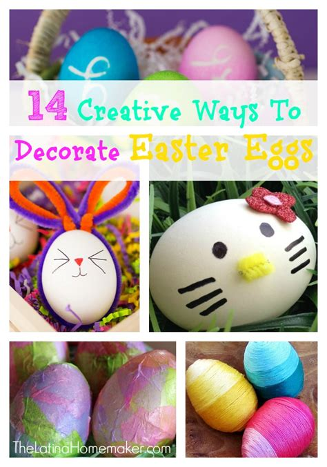 When To Decorate For Easter by 14 Creative Ways To Decorate Easter Eggs