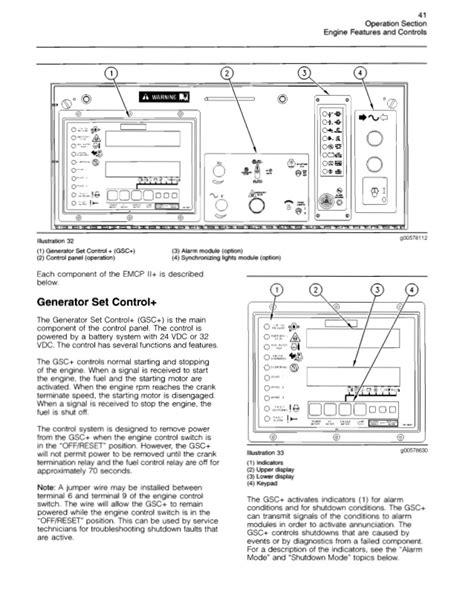 caterpillar genset wiring diagram webnotex