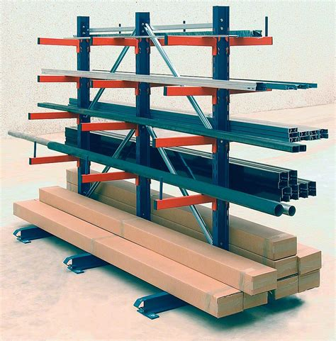 Cantilever Storage Racks by Light Duty Cantilever Racks Cantilever Racking Www Mecalux